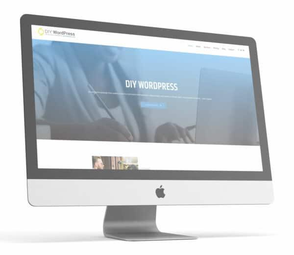 DIY WordPress website design package self-hosted